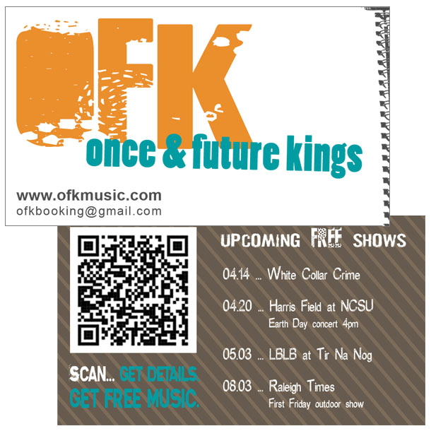 ofk business card design