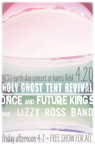 ofk + holy ghost earth day poster design