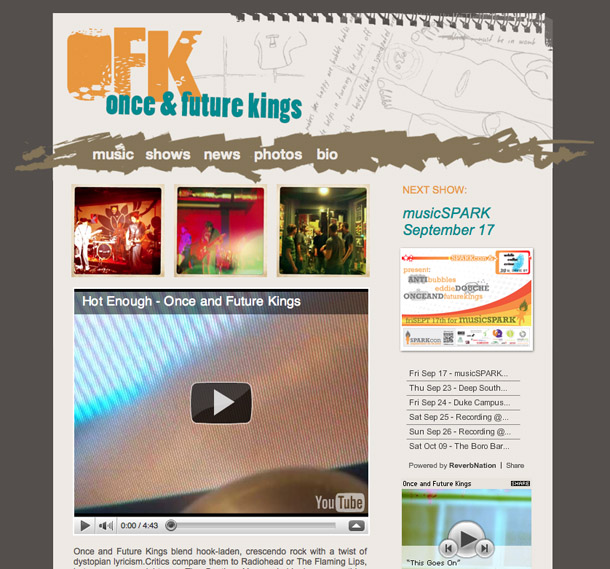 ofk website design