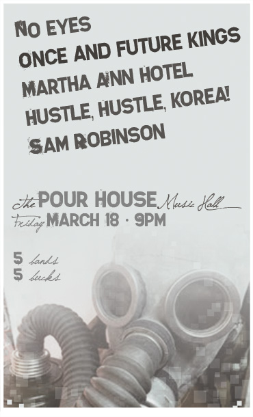 ofk at the pour house poster design