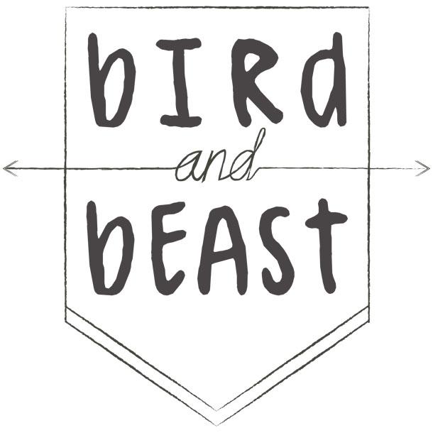 bird and beast band logo design