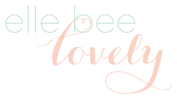 elle bee lovely logo + branding design