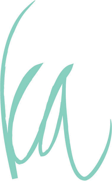 ka personal logo + branding