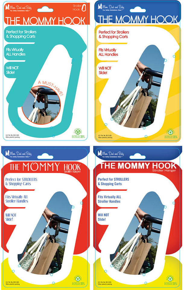 the mommy hook packaging design