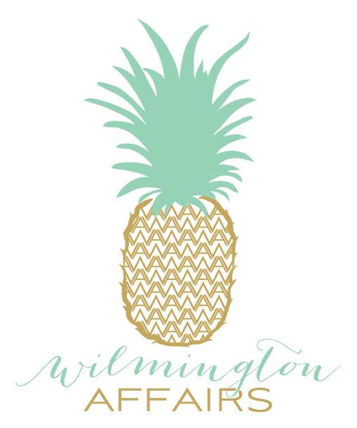 wilmington affairs event company logo design